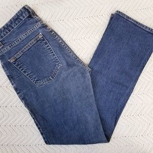 Gap Dark Wash Boot Cut Jeans